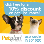 10% discount on pet insurance